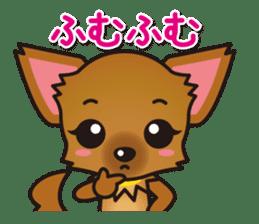 Cute Chihuahuas Aizuchi Stickers sticker #5266358