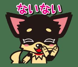 Cute Chihuahuas Aizuchi Stickers sticker #5266360