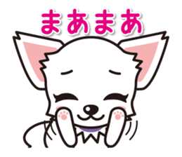 Cute Chihuahuas Aizuchi Stickers sticker #5266361
