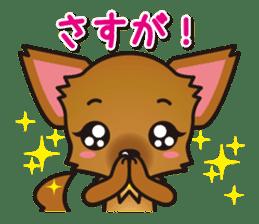 Cute Chihuahuas Aizuchi Stickers sticker #5266364