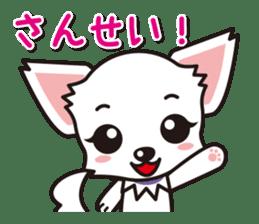 Cute Chihuahuas Aizuchi Stickers sticker #5266367