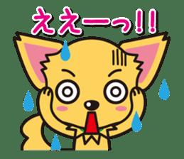 Cute Chihuahuas Aizuchi Stickers sticker #5266375