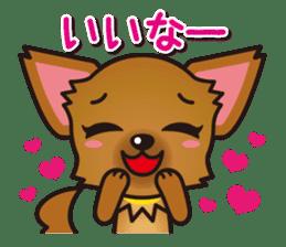 Cute Chihuahuas Aizuchi Stickers sticker #5266376