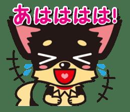 Cute Chihuahuas Aizuchi Stickers sticker #5266378