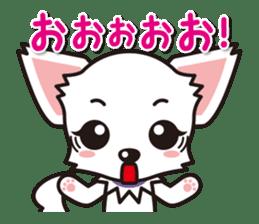 Cute Chihuahuas Aizuchi Stickers sticker #5266379