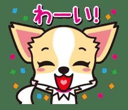 Cute Chihuahuas Aizuchi Stickers sticker #5266380