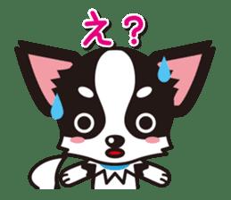Cute Chihuahuas Aizuchi Stickers sticker #5266383