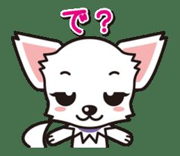 Cute Chihuahuas Aizuchi Stickers sticker #5266385