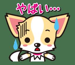 Cute Chihuahuas Aizuchi Stickers sticker #5266390