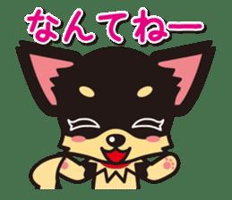 Cute Chihuahuas Aizuchi Stickers sticker #5266394