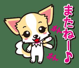 Cute Chihuahuas Aizuchi Stickers sticker #5266395