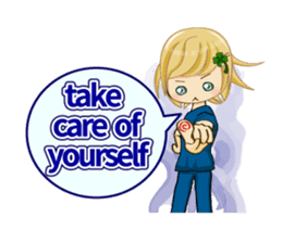 Daily life of the nurse(Eng ver.) sticker #5266401