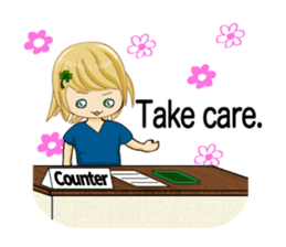 Daily life of the nurse(Eng ver.) sticker #5266405