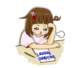 Daily life of the nurse(Eng ver.) sticker #5266415
