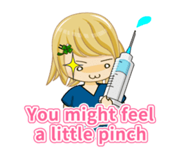 Daily life of the nurse(Eng ver.) sticker #5266432