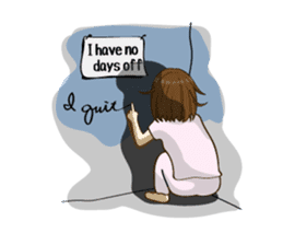 Daily life of the nurse(Eng ver.) sticker #5266435