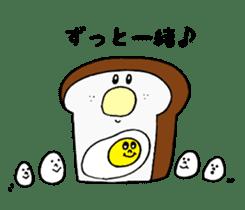Bread and rice sticker #5267345