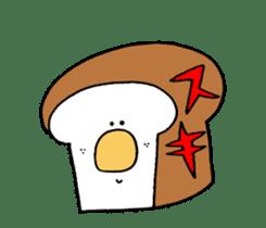 Bread and rice sticker #5267346