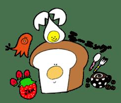 Bread and rice sticker #5267349
