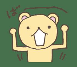 S bear2 sticker #5267705