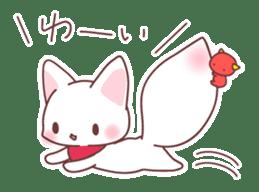 Fox and a small demon sticker #5279596