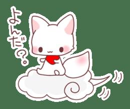 Fox and a small demon sticker #5279599
