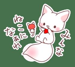 Fox and a small demon sticker #5279605