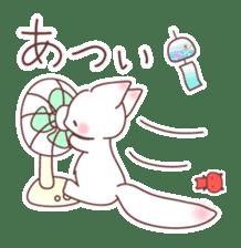 Fox and a small demon sticker #5279615