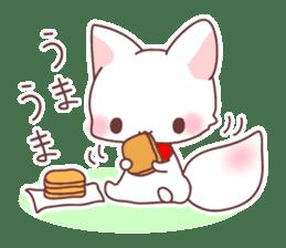 Fox and a small demon sticker #5279619