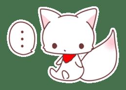 Fox and a small demon sticker #5279624