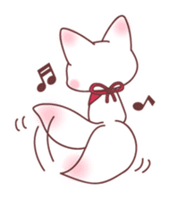 Fox and a small demon sticker #5279631