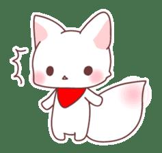 Fox and a small demon sticker #5279632