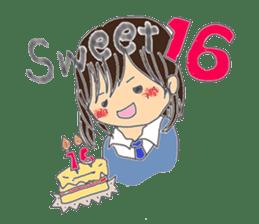 A series of celebration sticker #5282919