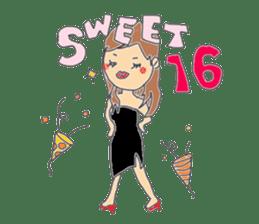 A series of celebration sticker #5282920