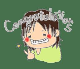 A series of celebration sticker #5282952