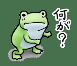 Sticker of the frog 2 sticker #5284621