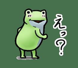 Sticker of the frog 2 sticker #5284623