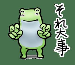 Sticker of the frog 2 sticker #5284624