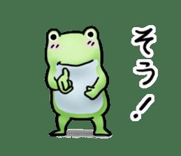 Sticker of the frog 2 sticker #5284630
