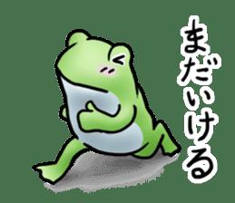 Sticker of the frog 2 sticker #5284631