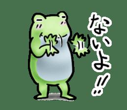 Sticker of the frog 2 sticker #5284634