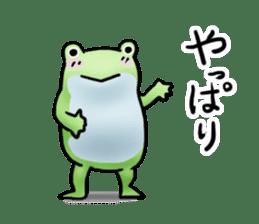 Sticker of the frog 2 sticker #5284637