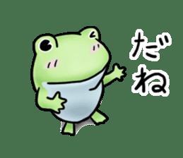 Sticker of the frog 2 sticker #5284638