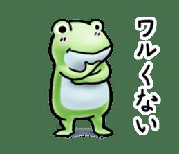 Sticker of the frog 2 sticker #5284640
