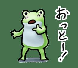 Sticker of the frog 2 sticker #5284642
