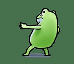 Sticker of the frog 2 sticker #5284649
