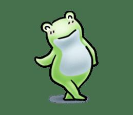 Sticker of the frog 2 sticker #5284650