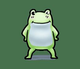 Sticker of the frog 2 sticker #5284651
