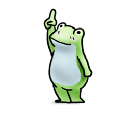 Sticker of the frog 2 sticker #5284653
