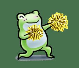 Sticker of the frog 2 sticker #5284655